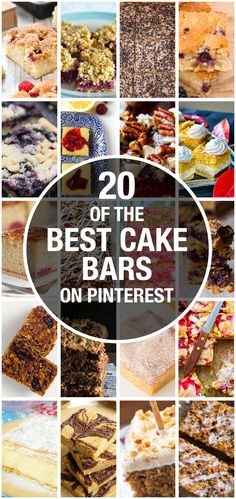 @amummytoo finds her top 20 best tray bakes and cake bars on Pinterest