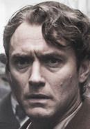 "Jude Law as Thomas Wolfe in the Genius movie. Read ""Genius: History vs. Hollywood"" at http://www.historyvshollywood.com/reelfaces/genius/"