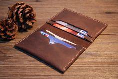 Mens Leather Wallets Leather Bifold Wallet by RockyLeatherDesign-sr