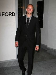 Alex Skarsgard . . . gah, he is a beautiful man with a beautiful smile.
