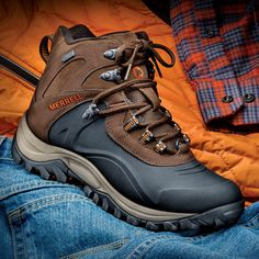 Merrell's Ice Jam Boots Keep Feet Warm and Dry to -40°F Without Feeling Like a Ton of Bricks!