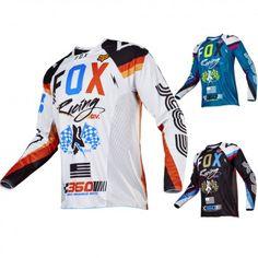 Fox Racing 360 Rohr Mens Off Road Dirt Bike Racing Motocross Jerseys
