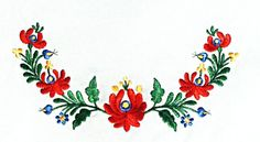 Hungarian Embroidery, Folk Embroidery, Hand Embroidery Designs, Embroidery Patterns, Hungarian Tattoo, Chain Stitch Embroidery, Embroidery Stitches, Bordado Popular, Stitch Head