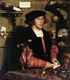 Portrait du marchand Georg Gisze (1532) Hans Holbein le jeune