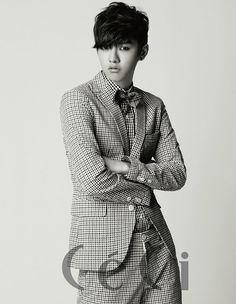 "Shin (aka Shin Won Ho) from Cross Gene and the drama ""Big"" in CeCi Korean Star, Korean Men, Asian Boys, Asian Men, Shin Cross Gene, Park Shin, Tae Oh, Jung Suk, Handsome Korean Actors"