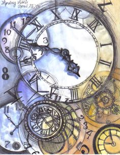 Clocks by ~MoonlightFay on deviantART