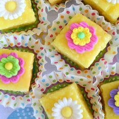 Easter Petit Fours - Easter Recipe