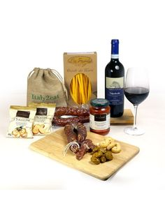 Mamma Mia Italian Selection Hamper for a Pasta meal with wine from Italy…