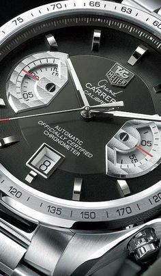 Tag Heuer Grand Carrera Calibre 17 automatic chronograph, Tag heuer, Boca Raton, used Tag Heuer