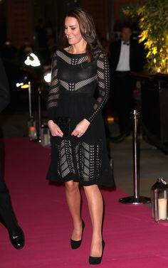 """DÎNER DE GALA D'AUTOMNE À LONDRES: La Duchesse Catherine de Cambridge en tant que présidente de la toxicomanie Britannique a assisté au dîner de gala d'automne """" lutte contre les addictions """"."""