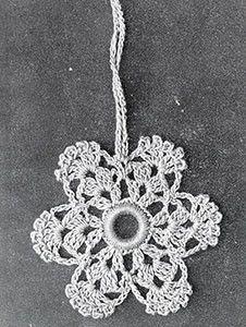 Curtain Pull ~ Free Vintage Crochet