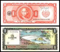 The Colón Was Currency Of El Salvador Between 1892 And 2001 Until It