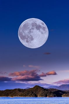 Summer Super Moon by Lidany Rouse