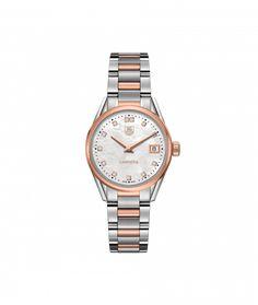 TAG Heuer Carrera 100 M - 32 mm Rose Gold & Diamonds WAR1352.BD0779 TAG Heuer watch price