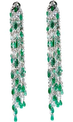 Gojee - Waterfall Earrings by Sidney Garber