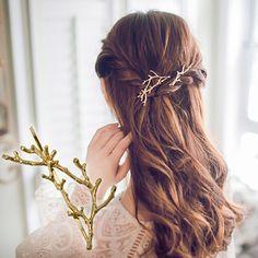 Rhinestone French Clip Metal Base Rhinestone Hair Accessory1pc Clasp Barrette