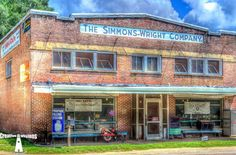From the time the Simmons-Wright Company opened until the 1960s, a majority of the store's business came from selling cotton along with providing merchandise and supplies to farmers.
