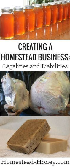 Before your turn your homestead passion into a business learn about the risks and responsibilities of creating a homestead business in this article Homestead Honey Homestead Farm, Homestead Living, Farms Living, Homestead Survival, Survival Skills, Survival Gear, Alaska Homestead, Homestead Layout, Survival Rifle
