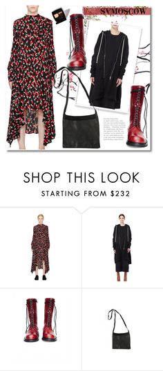 """""""Untitled #266"""" by andrea2andare ❤ liked on Polyvore featuring Marni, DRKSHDW, Ann Demeulemeester, Guidi and polyvoreeditorial"""