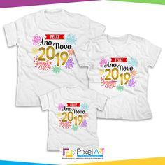 Kit Camisetas feliz ano novo é uma excelente opção você e sua família  entrar com tudo no Ano Novo c038180b311a3