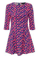 Neon Long sleeve Aztec dress as seen on TV! Aztec Dress, Floral Skater Dress, Dresses For Work, Dresses With Sleeves, Everything Pink, Crepe Dress, Wholesale Fashion, Swing Dress, Spring Fashion