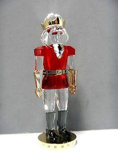 NUTCRACKER CHRISTMAS CRYSTAL SWAROVSKI 2014 XMAS HOLIDAY #5060260 Nutcracker Christmas, Christmas Figurines, Swarovski Ornaments, Swarovski Crystals, Xmas Holidays, Holiday Gifts, Disney, Xmas Gifts, Disney Art