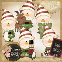 11- Christmas Goodies 1 - $1.00 : Primsy Doodle Designs, Country Clipart and Primitive Graphics