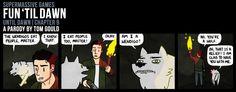 Tom Gould - Fun 'Til Dawn Comic - Know Thyself - Don't worry lil' wolf