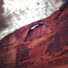 Eye Arch at Lake Powell in Utah. Too Cool!