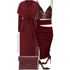 Wine by highfashionfiles on Polyvore featuring T By Alexander Wang, Christian Louboutin, Givenchy, Dean Harris and Jennifer Zeuner