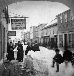 Eastport, Maine in the 1870's