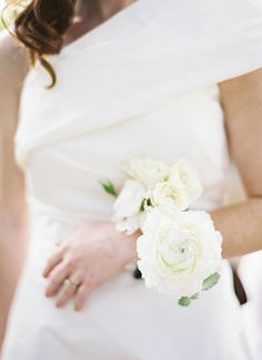 corsage instead of bouquet? | Jen Huang