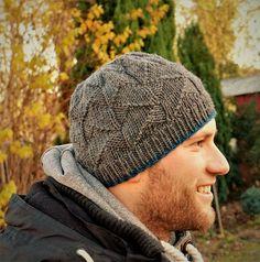 Ravelry: Vindkald pattern by Lydia Fischer Pattern Library, Lana, Ravelry, Knitted Hats, Free Pattern, Knitting Patterns, Knit Crochet, Winter Hats, Blog