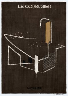 Gallery - Federico Babina's ARCHILINE Paints the Essence of Architecture's Greatest Works - 17