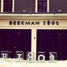 Winter at Beekman 1802 in Sharon Springs, NY