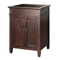 Foremost ASGA2421 Ashburn 24 Bath Vanity Cabinet, Mahogany