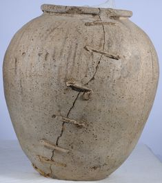 stapled repaired pottery pinterest - Google Search