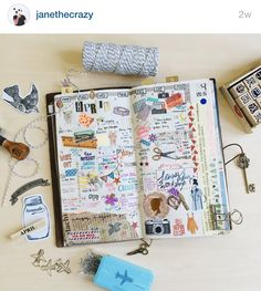 Journaling is fun! Follow my instagram @janethecray