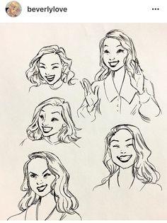 Fabulous Drawing On Creativity Ideas. Captivating Drawing On Creativity Ideas. Laugh Cartoon, Cartoon Faces, Cartoon Drawings, Cartoon Art, Drawing Sketches, Art Drawings, Drawing Tips, Sketching, Art Reference Poses