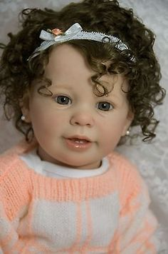 Custom Order New Release Toddler Reborn KATIE MARIE Ann Timmerman OOAK Baby Girl in Dolls & Bears, Dolls, Reborn | eBay
