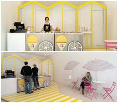 Dri Dri Gelato - Elips Design #design #gelato #casadasamigas