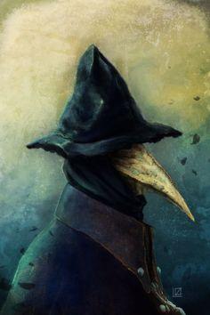 Eileen the crow by kjech.deviantart.com on @DeviantArt