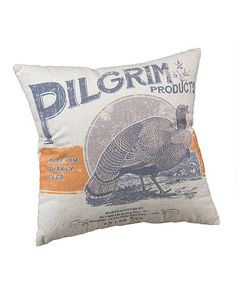 Another great find on #zulily! Pilgrim Products Throw Pillow #zulilyfinds