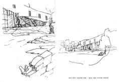 Sketches Of Love, Architecture Sketches, Diagram, Drawings, Perspective, Wisdom, Paintings, Building, Stuff Stuff