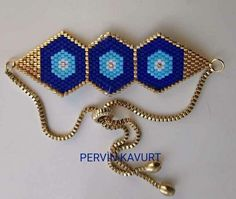 Briç stitch peyote senedir Beadwork Bracelet More