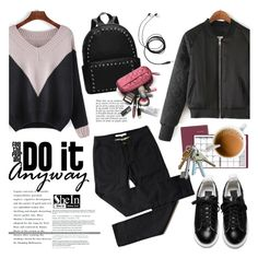 """Do it anyway"" by helenevlacho ❤ liked on Polyvore featuring ACCO, Anja and shein"