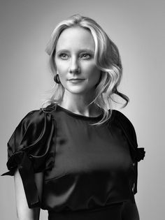 Anne Heche (1969) - American actress. Photo by Robert Maxwell