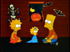 The Simpsons - Three Houses of Horror Season 1 : Episode 15 #educatinggeeks #simpsons