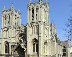 Catedral de la Santísima Trinidad de Bristol. Se convirtió en catedral en 1542.