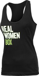 TITLE BOXING REAL WOMEN BOX TANK. I need this top!